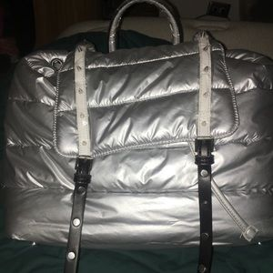 Metallic Silver Sam Edelman Backpack NWT